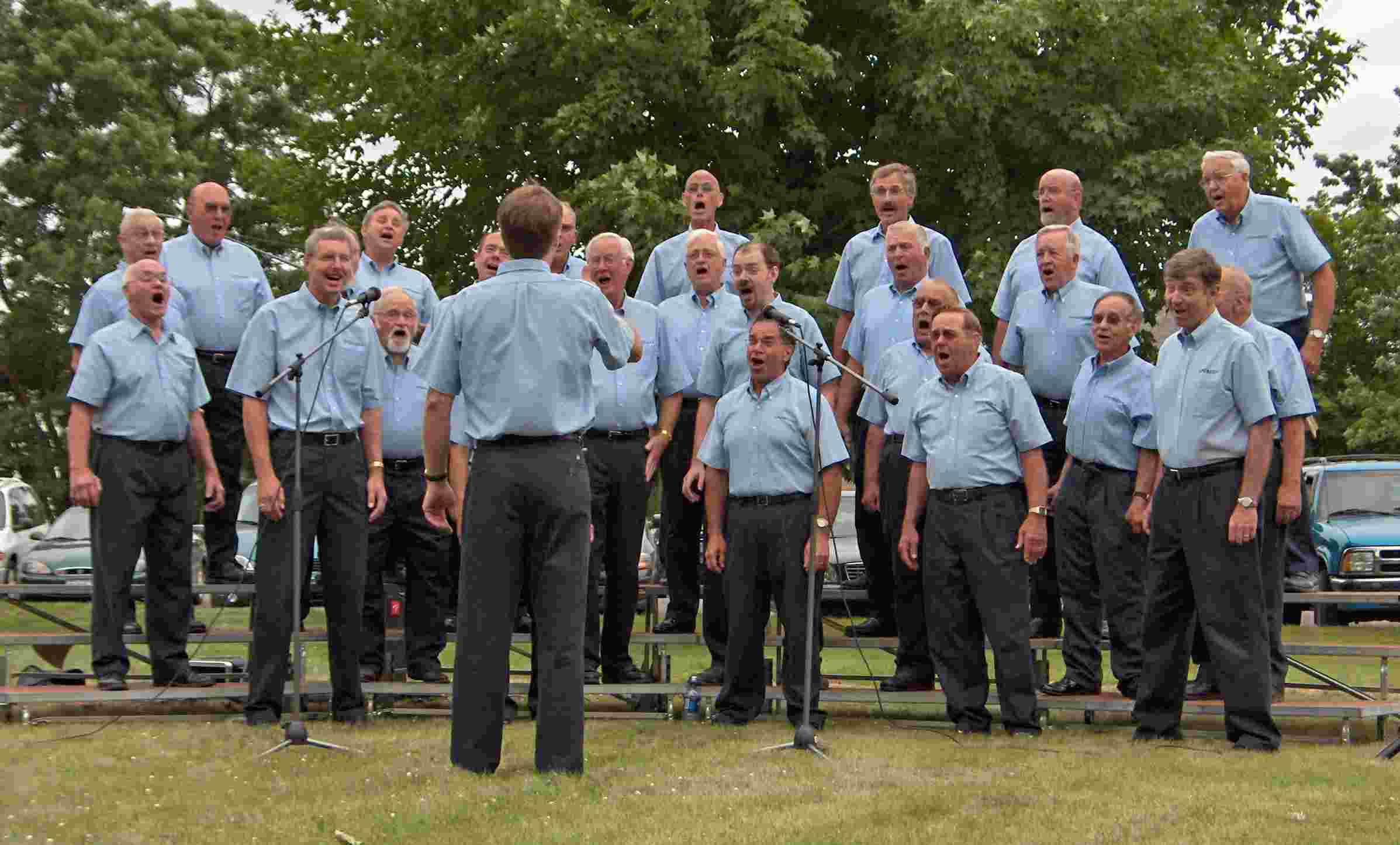 Indianhead Chorus in the Park at Luck, WI